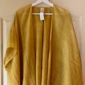 ‼️$17‼️Francesca's yellow kimono.